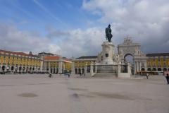 Praça do Comércio, Lisbonne, Portugal