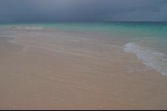 plage, Caya Levantado, Samana, Baie, République Dominicaine, Caraïbes
