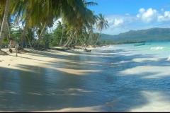 plage, Playa Grande Las Galeras, République Dominicaine, Caraïbes