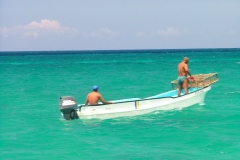 bateau, Isla Saona, République Dominicaine, Caraïbes