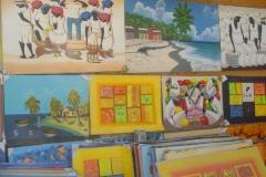 galerie, peinture, Punta Cana, République Dominicaine, Caraïbes