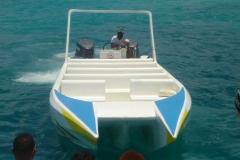 speedboat, bateau, Isla Saona, République Dominicaine, Caraïbes