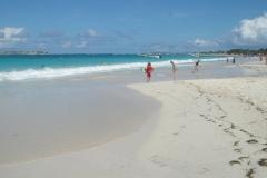Plage Orient beach, Saint Martin