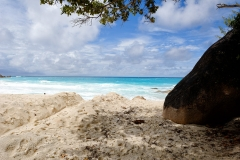 Ile des Seychelles, plage de La Digue