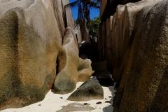 Ile des Seychelles, plage Source d'Argent, plage de La Digue