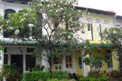 Singapour, rue Koon Seng, shophouses, maisons colorées, Quartier de Katong