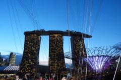 Singapour, hôtel Marina Bay Sands