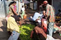 Sri Lanka vendeurs de fruits dans la rue