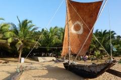 Sri Lanka, Pêcheurs et poissons bateau