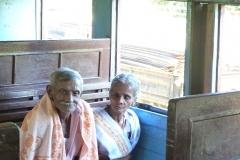 Sri Lanka couple de personnes agées