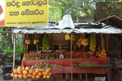 Sri Lanka vendeur de fruits exotiques