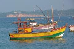Sri Lanka bateau de pêche