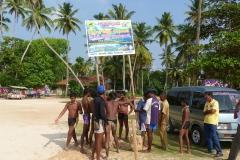 Sri Lanka, la plage en famille