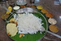 Sri Lanka riz et sauces