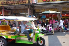 Thaïlande, Bangkok, tuk tuk