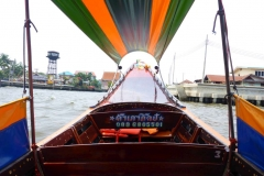 Thaïlande, Bangkok, bateau sur le fleuve Chao Phraya