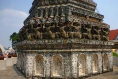 Thaïlande, Bangkok, temple Wat Phra Chetuphon