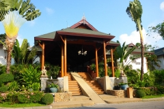 Thaïlande, île Koh Samui, hôtel Banana Fan Sea resort