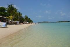 Thaïlande, île Koh Samui, Chaweng, plage nord
