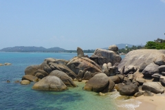 Thaïlande, île Koh Samui, Hin Tai, Hin Hai, Grand père et grand mère