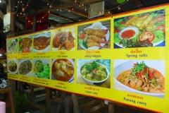 Thaïlande, île Koh Samui, restaurant thaï