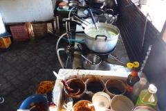 Thaïlande, île Koh Samui, cuisine de rue