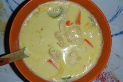 Thaïlande, île Koh Samui, Chaweng, curry vert piquant !
