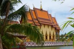 Thaïlande, île Koh Samui, Bophut, temple Wat Plai Laem