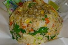 Thaïlande, Phuket, Patong riz sauté
