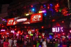 Thaïlande, Phuket, Patong Bangla road la nuit