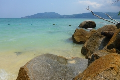 Thaïlande, Phuket, Patong, freedom beach, plage au sud de Patong