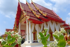 Thaïlande, Phuket, temple de Karon beach, Wat Karon,