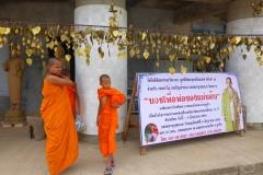 Thaïlande, Phuket, Big Buddha, moines