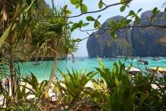 Thaïlande, Koh Phi Phi, Maya Bay, la plage
