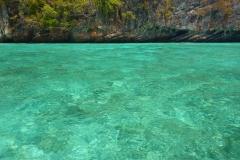 Thaïlande, Koh Phi Phi, Phi Leh cove / sans retouche photo !