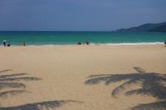 Thaïlande, Phuket, patong beach, plage au nord de Patong