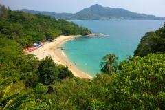 Thaïlande, Phuket, plage privée payante