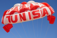 Tunisie, Djerba parachute ascensionnel