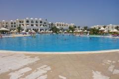 Tunisie, Djerba hôtel Vincci Helios piscine
