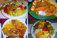 Tunisie, Djerba hôtel Vincci Helios, buffets et couscous
