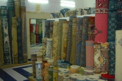 Tunisie, Hammamet Nabeul, tapis orientaux