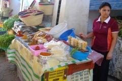 Tunisie, Hammamet Nabeul, marché, vendeuse épices