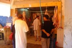 Tunisie, Hammamet Nabeul, marché, boucherie hallal