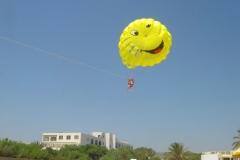 Tunisie, Hammamet Nabeul, parachute ascencionnel