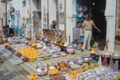 Tunisie, Nabeul poteries