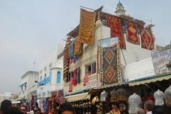 Tunisie, Nabeul souk et tapis