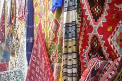 Tunisie, Nabeul tapis de marché