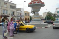 Tunisie, Nabeul attente pour le taxi retour vers hammamet