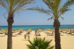 Tunisie, Hammamet beach, la plage classique