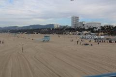 USA, Côte ouest, Los Angeles, plage vers Santa Monica